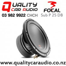 """Focal Sub P 25 DB 10"""" 500W (250W RMS) Dual 4 ohm Voice Coil Car Subwoofer with Easy Finance"""