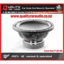 """Focal Sub P 25 DB 10"""" 500W 4-ohm DVC subwoofer - Easy LayBy"""