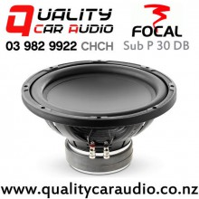 """Focal Sub P 30 DB 12"""" 600W (300W RMS) Dual 4 ohm Voice Coil Car Subwoofer with Easy Finance"""