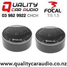 "Focal TIS 1.5 1.5"" 50W (15W RMS) Inverted Dome Tweeters (Pair) with Easy Finance"
