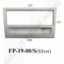 FP-19-00/Silver Holden Agila,Corsa,Meriva,Omega etc (1 Din) 10/2000 On