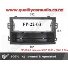 FP-22-03  Nissan 350Z 2003 - 2005 1 Din