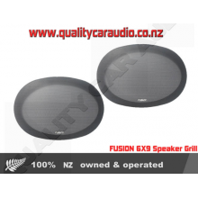 Fusion 6X9 Speaker Grill Pair - Easy LayBy