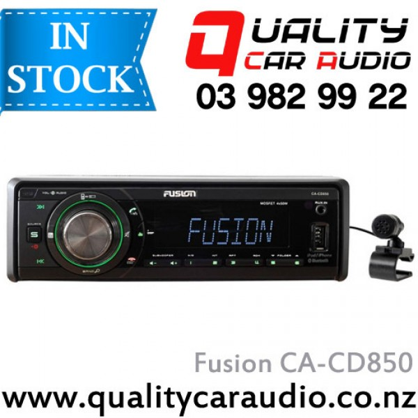 Fusion CA-CD850 Bluetooth CD USB AUX SD NZ Tuners 2x Pre Outs with Easy LayBy