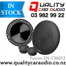 """Fusion EN-CM652 6"""" 240W 2 Ways Component Speakers (Pair) with Easy Layby"""
