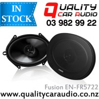 "Fusion EN-FR5722 5x7"" / 6x8"" 200W 2 Ways Coaxial Speakers (Pair) with Easy LayBy"