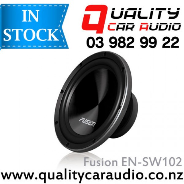 """Fusion EN-SW102 10"""" (25cm) 800W Single Voice Coil Subwoofer with Easy LayBy"""