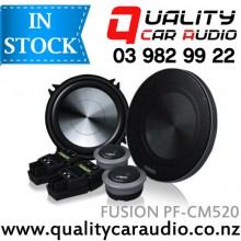 "Fusion PF-CM520 Performance 5.25""(13cm) 250W 2 Ways Component Car Speakers (Pair) with Easy Layby"
