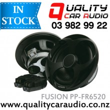 """Fusion PP-FR6520  Power Plant 6.5"""" (165cm) 300W 2 Ways Coaxial Car Speakers (Pair) with Easy Layby"""