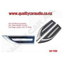 G4-723 Multi-Functional 6000K 10LED Car Edge Lamp - Easy LayBy