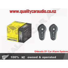 G4MATIC D1 CAR ALARM SECURITY SYSTEM FITTED (Immobilizer)