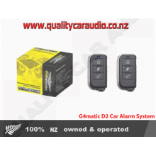 G4MATIC D2 CAR ALARM SECURITY SYSTEM FITTED (Immobilizer)