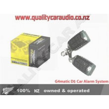 G4MATIC D5 CAR ALARM SECURITY SYSTEM FITTED (Immobilizer)