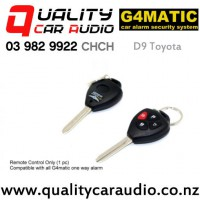 G4matic D9 Toyota Remote Control for G4matic Alarm with Easy Finance