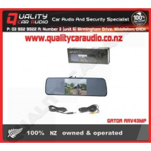 "GATOR ARV43MP 4.3"" rearview mirror - Easy LayBy"