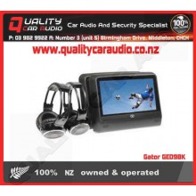 """Gator GED9BK 2 x 9"""" back seat dvd player - Easy LayBy"""