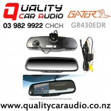 Gator GR430EDR Rear Mirrow Monitor with Built-in Dash Camera (Reverse Camera not inclued) with Easy Payments