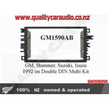GM1590ABGM Double Din Kit With Trim Ring ISO 94 on - Easy LayBy