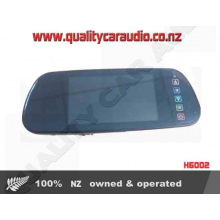 "H6002 6"" Rearview Mirror built-in Bluetooth - Easy LayBy"