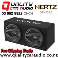 "Hertz DBX252.3 10"" 1200W (300W RMS) Dual Car Subwoofer Box with Easy Finance"
