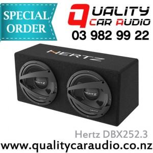 "Hertz DBX252.3 10"" 1200W Dual subwoofer box - Easy Layby"