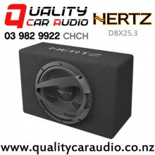 "Hertz DBX25.3 10"" 600W (150W RMS) Car Subwoofer Box with Easy Finance"