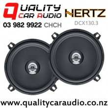 "Hertz DCX130.3 5.25"" 80W (40W RMS) 2 Way Coaxial Car Speakers (pair) with Easy Finance"