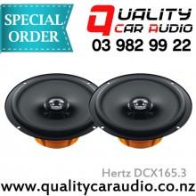 """Hertz DCX165.3 6.5"""" 120W 2 Way Coaxial Speakers"""
