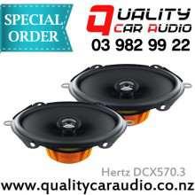 """Hertz DCX570.3 5x7"""" 120W 2 Way Coaxial Speakers"""