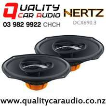 """Hertz DCX690.3 6x9"""" 180W (90W RMS) 3 Way Coaxial Car Speakers (pair) with Easy Finance"""