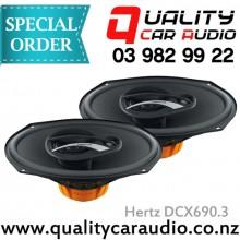 """Hertz DCX690.3 6x9"""" 180W 3 Way Coaxial Speakers"""