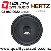"Hertz DS300.3 12"" 1200W (300W RMS) 4 ohm Voice Coil Car Subwoofer with Easy Finance"