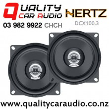 """Hertz DCX100.3 4"""" 60W (40 RMS) 2 Way Coaxial Car Speakers (pair) with Easy Finance"""