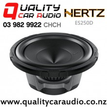 "HERTZ ES250D 10"" 750W (250W RMS) Single 4 ohm Voice Coil Car Subwoofer with Easy Finance"