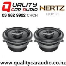 "Hertz HCX130 5.25"" 140W (70W RMS) 2 Way Coaxial Car Speakers (pair) with Easy Layby"