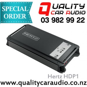 Hertz HDP1 Mono Channel 2000W Max Amplifier - Easy Layby