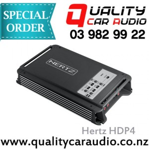 Hertz HDP4 4 Channel 1000W Amplifier - Easy Layby
