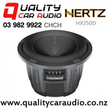"Hertz HX250D 10"" 900W (450W RMS) Dual Voice Coil Car Subwoofer with Easy Finance"