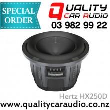 "Hertz HX250D 10"" 900W DVC Subwoofer - Easy Layby"