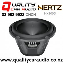 Hertz HX300D 1200W (600W RMS) Dual 4 ohm Voice Coil Car Subwoofer with Easy Finance
