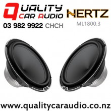 "HERTZ ML1800.3 7"" 400W (200W RMS) MidBass Car Speakers (pair) with Easy Layby"