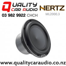 "HERTZ ML2000.3 8"" 1400W (700W RMS) 4ohm 100mm Voice Coil Car Subwoofer with Easy Layby"