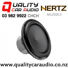 "HERTZ ML2500.3 10"" 1400W (700W RMS) 4ohm 100mm Voice Coil Car Subwoofer with Easy Layby"