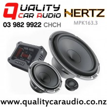 Hertz MPK163.3 6.5'' 300W (150W RMS) 3 Way Components Car Speakers (pair) with Easy Layby