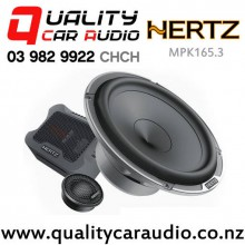 """Hertz MPK165.3 6.5"""" 220W (110W RMS) Components Car Speakers (pair) with Easy Layby"""