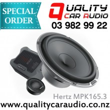 "Hertz MPK165.3 6.5"" 220W Components Speakers - Easy Layby"