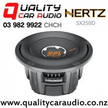 "Hertz SX250D 10"" 2400W (600W RMS) Dual 4 ohm Voice Coil Car Subwoofer with Easy Finance"