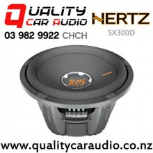 "Hertz SX300D 12"" 3200W (800W RMS) Dual 4 ohm Voice Coil Car Subwoofer with Easy Finance"