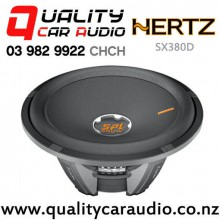 "Hertz SX380D 15"" 4000W (1000W RMS) Dual 4 ohm Voice Coil Car Subwoofter with Easy Finance"
