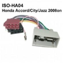 Honda Accord/City/Jazz ISO Harness Adaptor 2008 ON